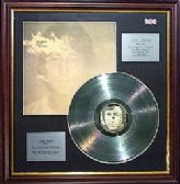 x JOHN LENNON - Imagine LP Platinum disc & cover
